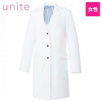 UN-0084 UNITE(ユナイト) 長袖ドクターコート(女性用)