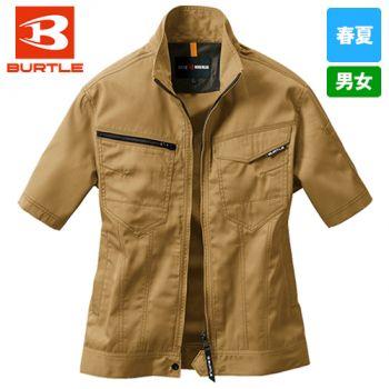 1716 バートル [春夏用]T/Cライトチノ半袖ジャケット(男女兼用)