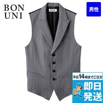 15115 BONUNI(ボストン商会) ベスト(男性用) グレースヘリンボーン 78-15115