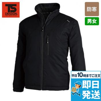 1826 TS DESIGN 防寒 メガヒートライトウォームジャケット(男女兼用)