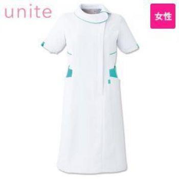 [在庫限り/返品交換不可]UN-0044 UNITE(ユナイト) ワンピース(女性用) ラウンドカラー