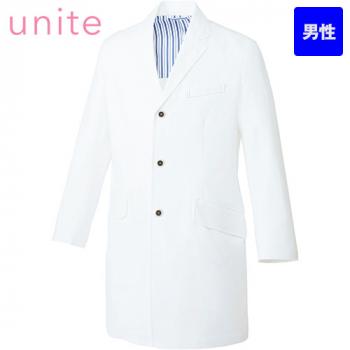 UN-0080 UNITE(ユナイト) 長袖ドクターコート(男性用)
