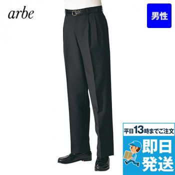 AS-802 チトセ(アルベ) ツータックスラックス(男性用)太め