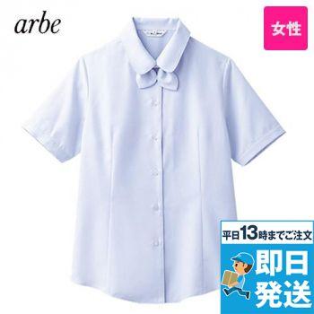 BL-6815 チトセ(アルベ) ブラウス/半袖 リボンタイ付き(女性用) 84-BL6815