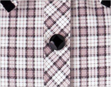 ダイヤのマークがアクセントの黒いボタン