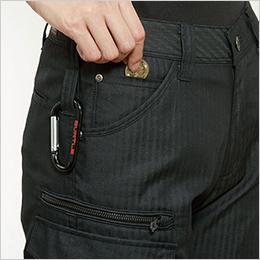 両脇 ツインループ 右 コインポケット