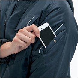 左袖 ポケット(リフレクターデザイン)
