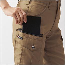 右 長財布レベルブック収納ポケット
