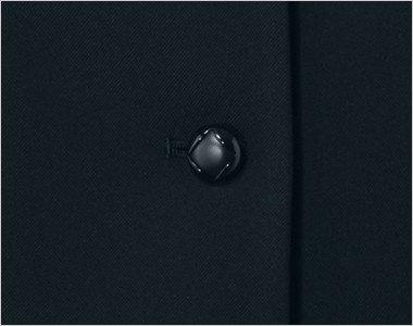 シンプルでかわいい黒ボタン