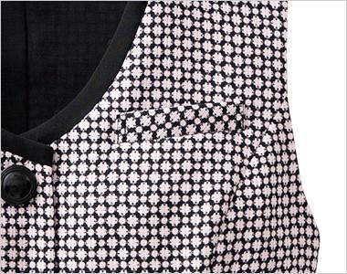 シンプルな左胸ポケット