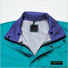 汗のムレやベタツキを防ぐジャケット&パンツ総裏メッシュ