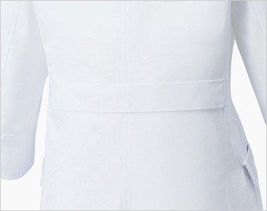 シルエットをきれいに魅せる背ベルト