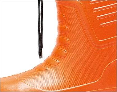 抜群の保温性で足の温かさをキープする超軽量EVA素材
