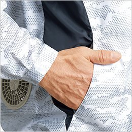 両脇 ポケット付き
