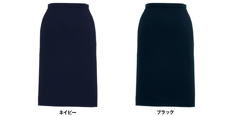 BONMAX AS2257 [通年]トリクシオンヘリンボーン タイトスカート 無地 色展開