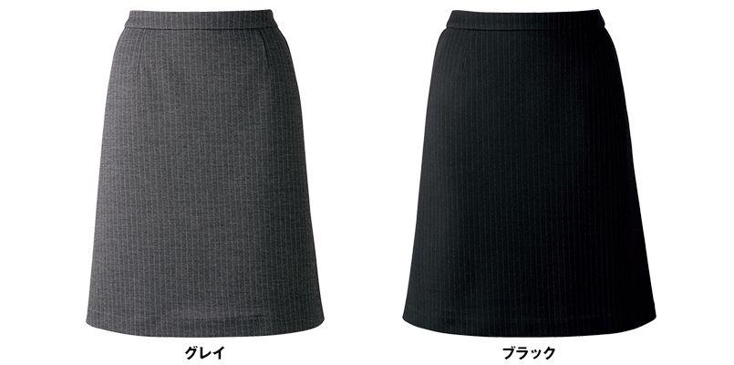 BONMAX AS2274 [通年]アウトラストA Aラインスカート ストライプ 色展開