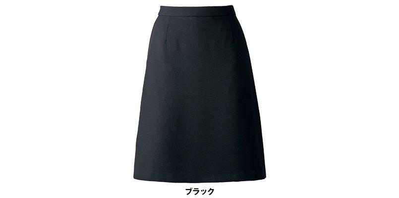 AS2280 BONMAX/インプレス Aラインスカート 無地 色展開