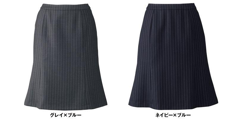 BONMAX AS2282 [通年]プログレス マーメイドスカート ストライプ[温度調整機能素材] 色展開