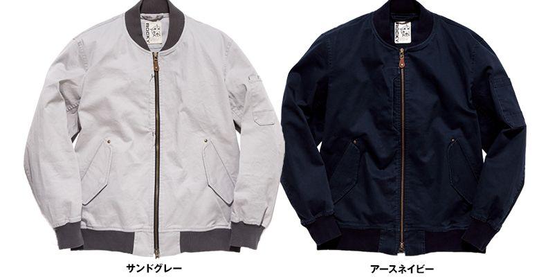 RJ0901 ROCKY ミリタリージャケット(男女兼用) 色展開