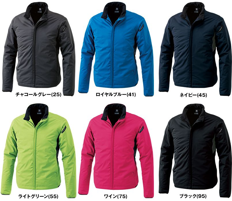 6626 TS DESIGN 防風ストレッチ ライトウォームジャケット(男女兼用) 色展開