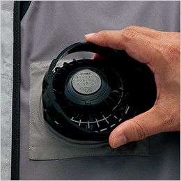AZ50197 アイトス タルテックス 空調服 ベスト(男女兼用) ポリ100% 簡単脱着が可能