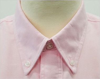 AZ7822 アイトス カナディアンクリーク 長袖T/Cオックスシャツ(男女兼用) きっちりした印象のボタンダウン