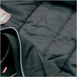 AZ8460 アイトス エコノミー防寒コート[フード付き・取り外し可能] 裏カラーステッチキルト