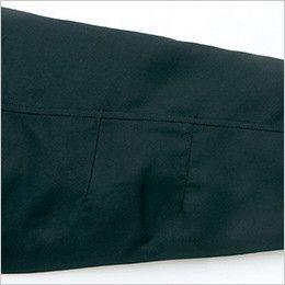 AZ8460 アイトス エコノミー防寒コート[フード付き・取り外し可能] 肘タック