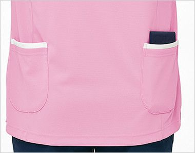 UZL3042 ルコック チュニック(女性用) 手を入れやすい斜めカットのポケット付き