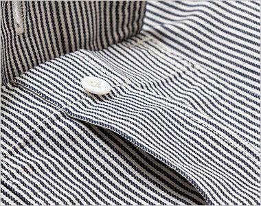 LWS43002 Lee ワーク半袖シャツ(女性用) プリーツ入りで立体的なLee象徴的な胸ポケット