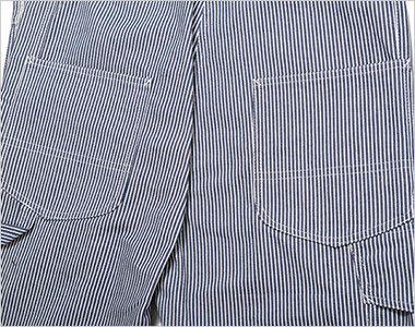 LWU39002 Lee オーバーオール(男女兼用) 補強布付の後ろポケット