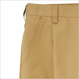RP6908 ROCKY ワンタックパンツ(男女兼用) ツイル ポケット付き