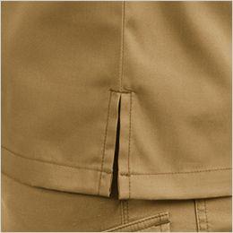 バートル 1715 T/Cライトチノ長袖シャツ(男女兼用) スリット入り