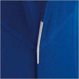 バートル 415 ドライメッシュ半袖ジップシャツ[左袖ポケット付](男女兼用) 消臭テープ仕様