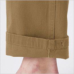 バートル 5202 ヴィンテージサテンカーゴパンツ(綿100%)(男女兼用)裾上げNG  しぼりひも通し穴