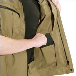 バートル 6071 制電T/Cソフトツイルジャケット(JIS T8118適合)(男女兼用)  内ポケット
