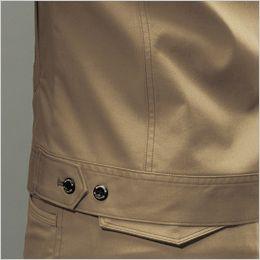 バートル 7051 [秋冬用]ストレッチ高密度ツイル長袖ジャケット(男女兼用) 内ポケット