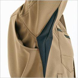 バートル 7088 制電ストレッチレディースジャケット(JIS T8118適合)(女性用) 背アームノーフォーク