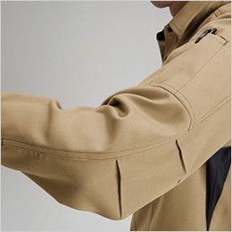 バートル 7093 ドビークロス長袖シャツ(JIS T8118適合)(男女兼用) ペンポケット