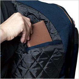 バートル 7110 パイピング防寒ブルゾン(男女兼用) 内ポケット