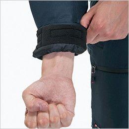 バートル 7210 [秋冬用]サーモトロン防寒ブルゾン(大型フード付)(男女兼用) 袖口裏フリース
