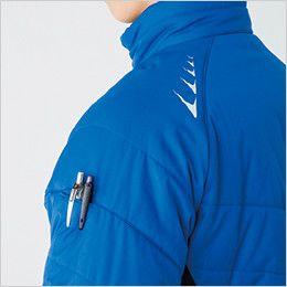 バートル 7310 背面マイクロフリース防寒ジャケット(男女兼用) ペンポケット