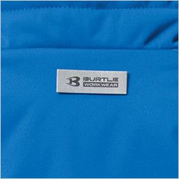 バートル 7410 防風ストレッチ軽量防寒ブルゾン(男女兼用) バートルロゴ