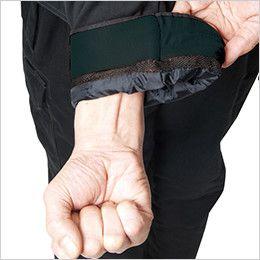 バートル 8110 チノクロス防寒ジャケット(大型フード付)綿100%(男女兼用) 裏起毛トリコット