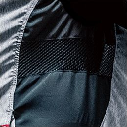 バートル AC1024 エアークラフト[空調服]迷彩ベスト(男女兼用) ポリ100% 脇通気メッシュ