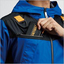 AC1091 バートル エアークラフト[空調服] パーカージャケット(男女兼用) バッテリー収納ポケット、ファスナー止め、コードホール付き