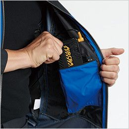 AC1091 バートル エアークラフト[空調服] パーカージャケット(男女兼用) バッテリーポケット、ファスナー止め