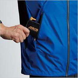 AC1091 バートル エアークラフト[空調服] パーカージャケット(男女兼用) バッテリー収納ポケット、ファスナー止め※特許取得済