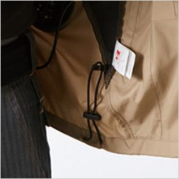 AC1111PSET-K バートル エアークラフト[空調服]迷彩 長袖ジャケット(男女兼用) ポリ100% ドローコード