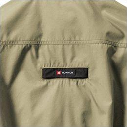 AC1121SET-K バートル エアークラフト[空調服]ハーネス対応 長袖ブルゾン(男女兼用) ポリ100% フルハーネス ランヤード取付口